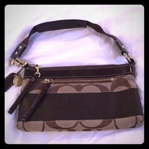 Small Coach handbag.